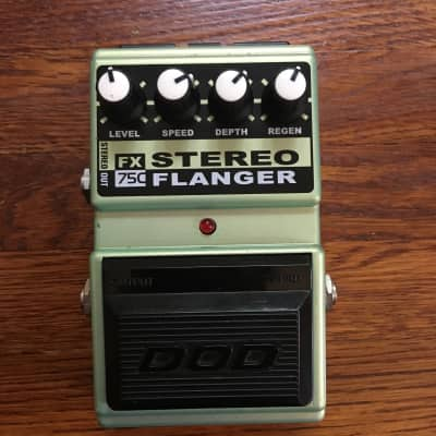 DOD FX 75C Stereo Flanger w/original box for sale