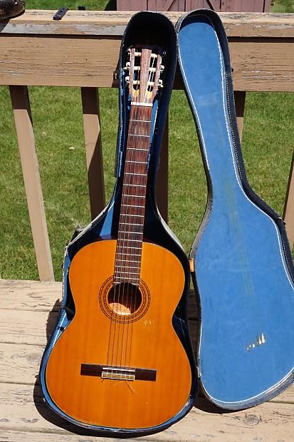 Alvarez Auto Sales >> Vintage 1970s Alvarez Model 5011 Classical Guitar ...