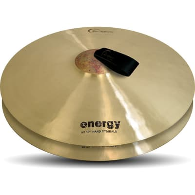 """Dream Cymbals 17"""" Energy Series Orchestral Crash Cymbals (Pair)"""