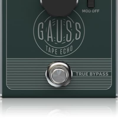 TC Electronic Gauss Tape Echo Pedal for sale