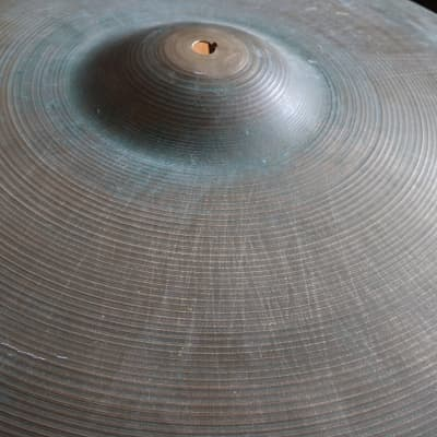 "Zildjian 20"" Ride Small Stamp Late 50's. 1957-1959 Natural Patina"