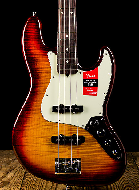 Fender Limited Edition American Professional Jazz Bass FMT   Reverb