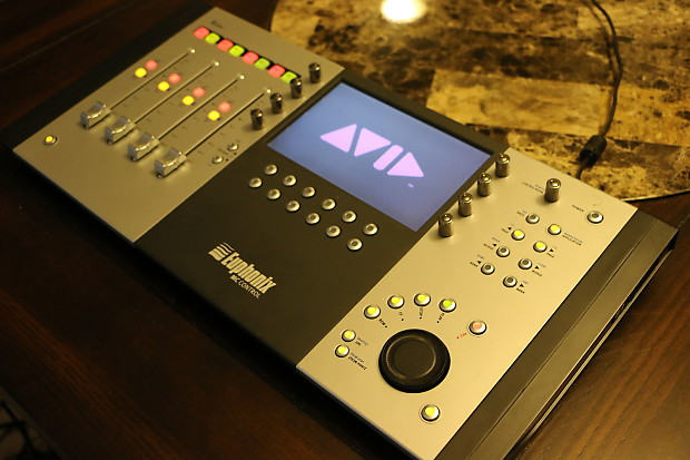 euphonix mc control 4 fader daw control surface with touch reverb. Black Bedroom Furniture Sets. Home Design Ideas