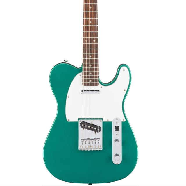 Squier Affinity Series Telecaster Electric Guitar - Race Green, New! image