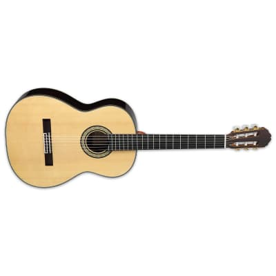 Takamine H8SS Hirade Gloss Natural Classical Nylon NEW Guitar with Hardshell Case Solid Spruce Top for sale