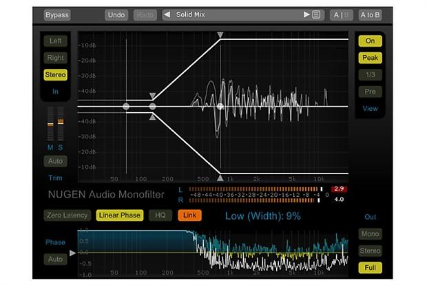 NUGEN Audio Monofilter Elements | Recording Software Shop