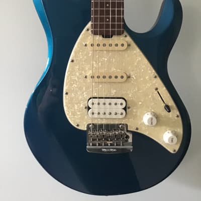 Ernie Ball Music Man Silhouette Special HSS with Rosewood Fretboard 2010s Blue for sale