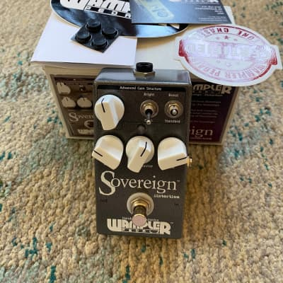 Wampler Sovereign Distortion Pedal