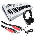 (Video) Waldorf blofeld Synthesizer Keyboard Bundle - White image