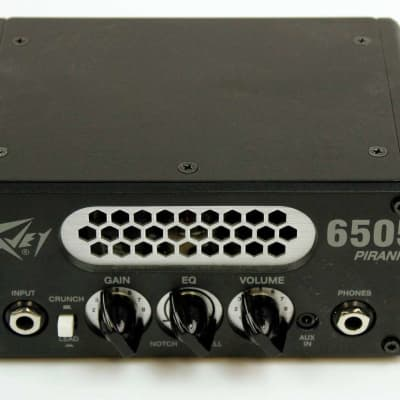 Peavey 6505 Piranha 20W Tube Hybrid Guitar Amp Head Black, Ex #OJBGE030140
