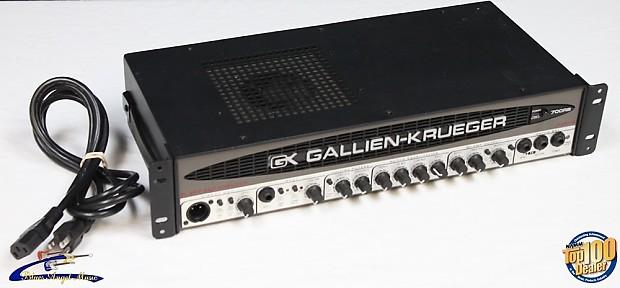 gallien krueger 700rb mark ii bass amp head 480w usa gk reverb. Black Bedroom Furniture Sets. Home Design Ideas