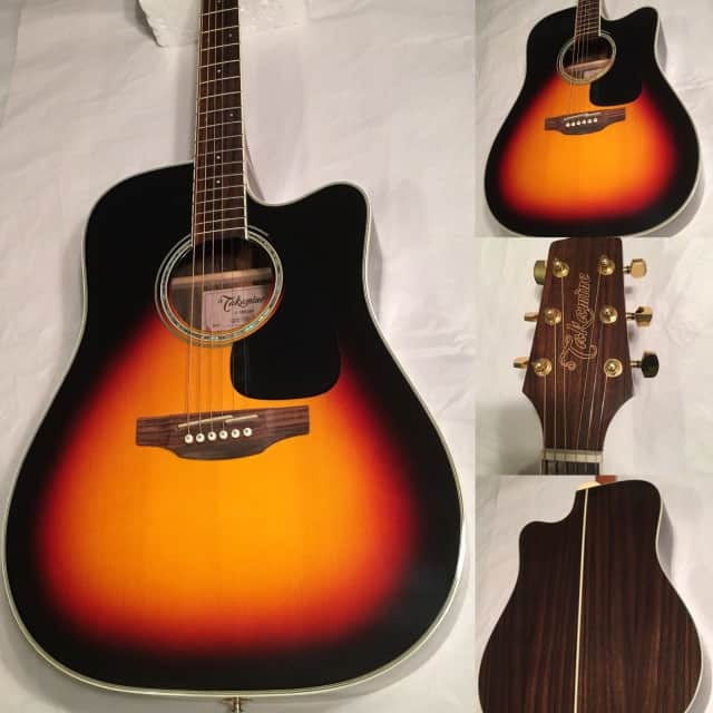 Takamine GD51CE-BSB Dreadnought Cutaway Acoustic-Electric Guitar, Sunburst image
