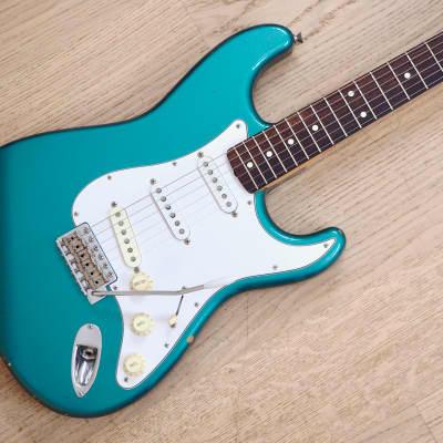 2002 Fender Stratocaster '62 Vintage Reissue Ocean Turquoise Metallic Japan CIJ w/ USA Pickups for sale