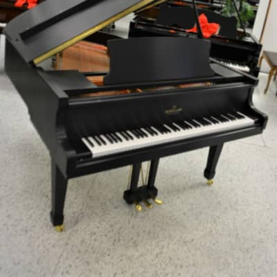 Schiller Berlin Grand Piano 5'3 Ebony Satin