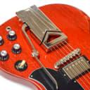 Gibson  SG Standard '61 Sideways Vibrola 2020 Heritage Cherry