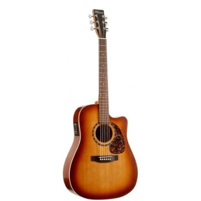 Norman Norman B18 CW Tobacco Burst Presys Acoustic/Electric Guitar for sale