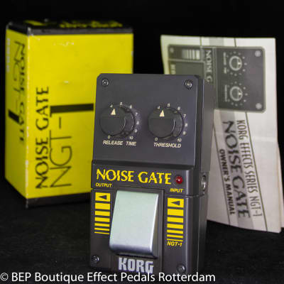 Korg NGT-1 Noise Gate s/n 002037 early 80's Japan
