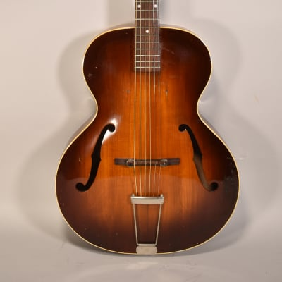 1950s Epiphone Zenith Sunburst Finish Vintage Archtop Guitar for sale