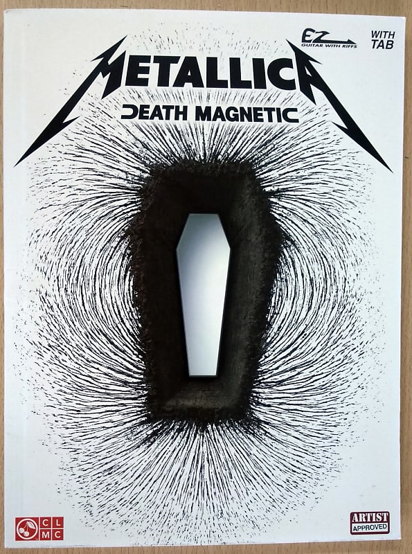 cherry lane metallica death magnetic easy guitar songbook reverb. Black Bedroom Furniture Sets. Home Design Ideas