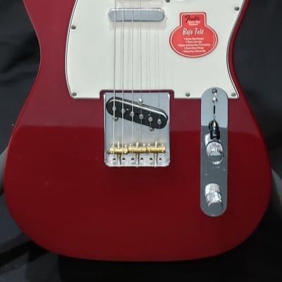 Fender Classic Player Baja '60s Telecaster with Rosewood Fretboard 2016 Candy Apple Red