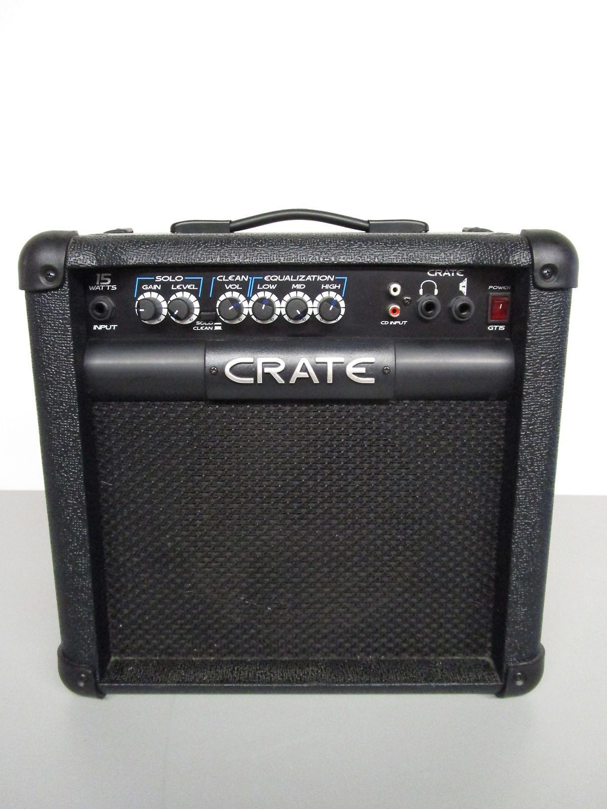 crate gt 15 combo amp reverb. Black Bedroom Furniture Sets. Home Design Ideas