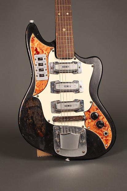 Zen-On Kawai Teisco Vintage 3 Pickup 1960\'s MIJ Guitar | Reverb