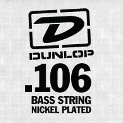 Dunlop DBN106 Nickel Wound Bass String - 0.106