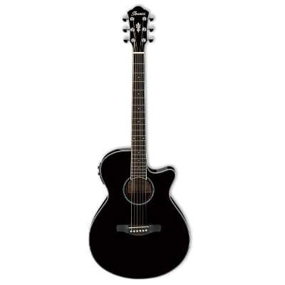 Ibanez AEG10II - Black Acoustic Guitar