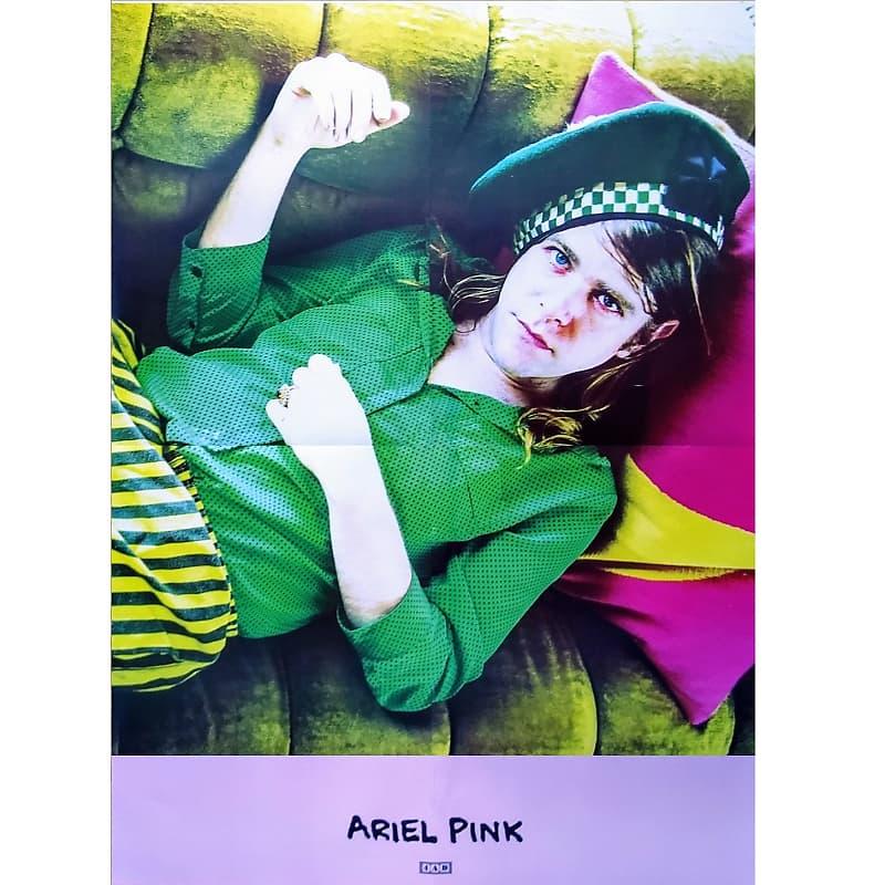 Ariel Pink Pom Pom Ltd Ed Rare New Huge Tour Poster Reverb