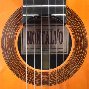 Montalvo Friedrich Model Cutaway Classical Guitar 2005 for sale