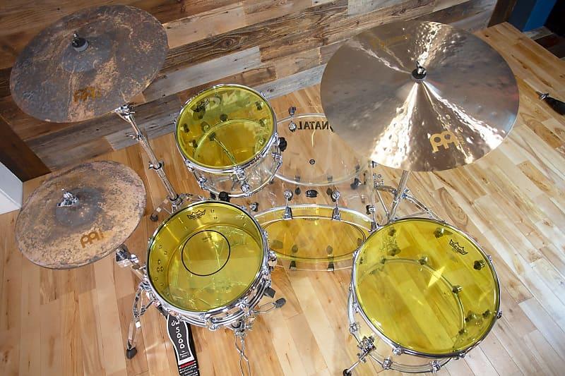 """Remo 12/"""" Emperor Colortone Yellow Drum Head"""