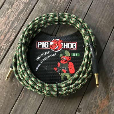 "PIG HOG  ""Camouflage"" Instrument Cable, 20ft"