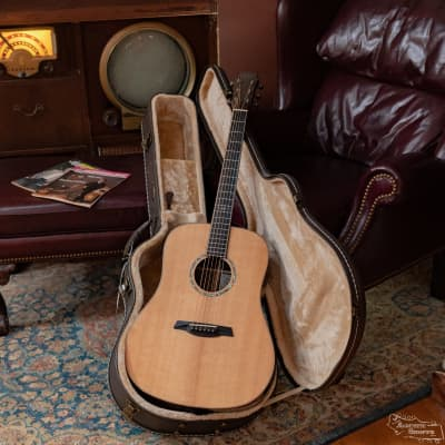 (Used) 2017 Maestro Rosetta Custom Dreadnought Stitka Spruce Top/Indian Rosewood Back & Sides Acoustic #1070 for sale