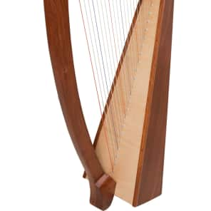 Roosebeck HTHA-N 22-String Heather Harp with Natural Side Panels