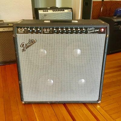 Fender Super Reverb c 1966 Blackface original vintage USA amplifier