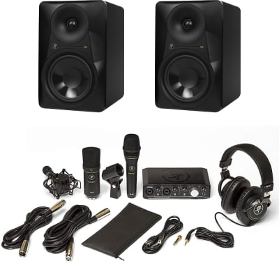 Mackie Bundle with Producer Bundle with USB Interface, Vocal Condenser + Cardioid Condenser Micropho
