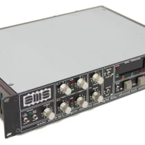 AMS Model DMX 15-80 S Computer Controlled Stereo Digital Delay 1980s Black image