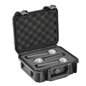 SKB 3i-0907-MC3 iSeries Injection Molded Waterproof Case for 3 Microphones