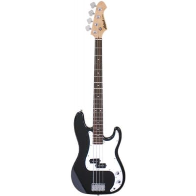 Aria Pro II Stb - Pb Bk - 4 String Precision Bass Guitar (Black) for sale