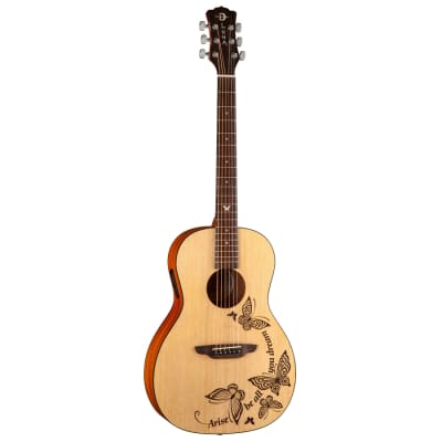 Luna Guitars Gypsy Dream 6-String Acoustic-Electric Guitar for sale