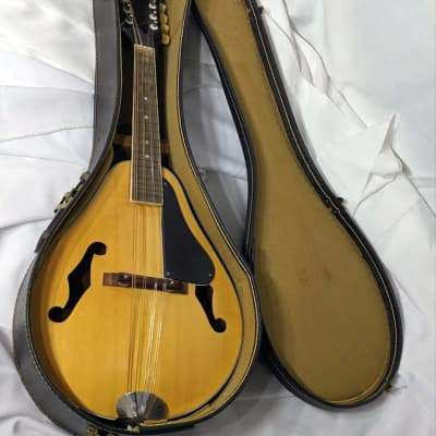 Kent Mandolin - 1970's Accoustic 8 String - w/Hard Case for sale