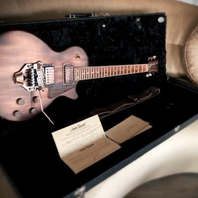 James Trussart SteelDeville Antique Copper Floyd Rose for sale
