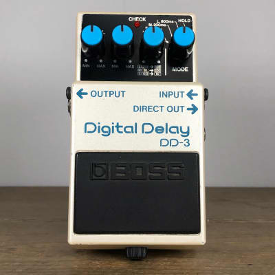 Boss DD-3 Digital Delay 2001 - 2019 White