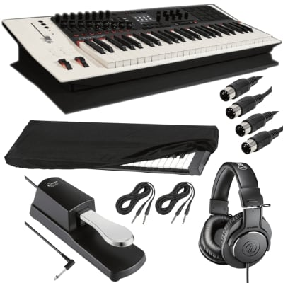 Nektar Technology Panorama P4  + Sustain Pedal + Kaces Dust Cover+ ATH-M20x  and Cables.