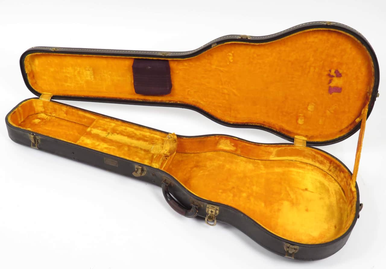 gibson les paul custom hardshell case 1950s to early 1960s reverb. Black Bedroom Furniture Sets. Home Design Ideas
