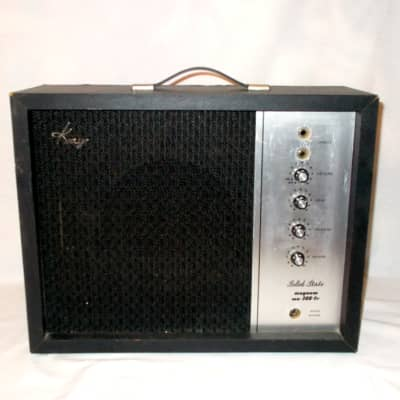 1970 Kay  Magnum MA-300-TR Amp With Reverb And Tremolo