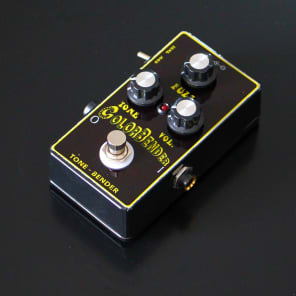 Custom handmade colorbender tonebender guitar fuzz pedal with mods ( big muff face fuzz ) for sale
