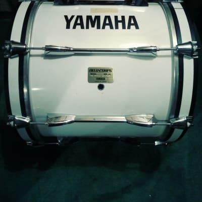Yamaha Field Corps 16x14 Marching Bass Drum  White