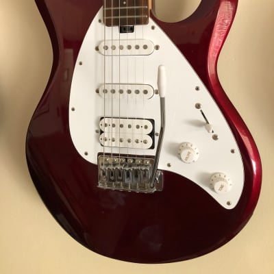 OLP Ernie Ball Silhouette 2002 Candy Apple Red Mint for sale