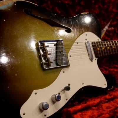 Fender Custom Shop '50s Telecaster Thinline Relic